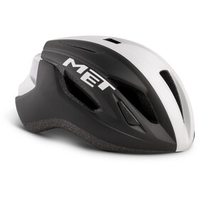 MET Strale Helmet black/white panel